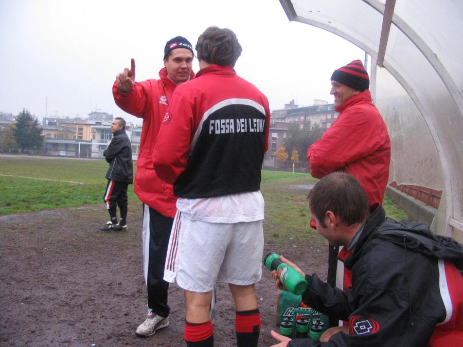"""Roberto """"Muschione"""" Ceccato in Umbo United vs G.S.Corsico (2006/2007)"""